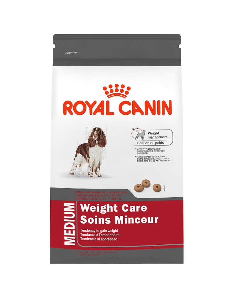 royal canin control de peso razas medianas el perro azul. Black Bedroom Furniture Sets. Home Design Ideas