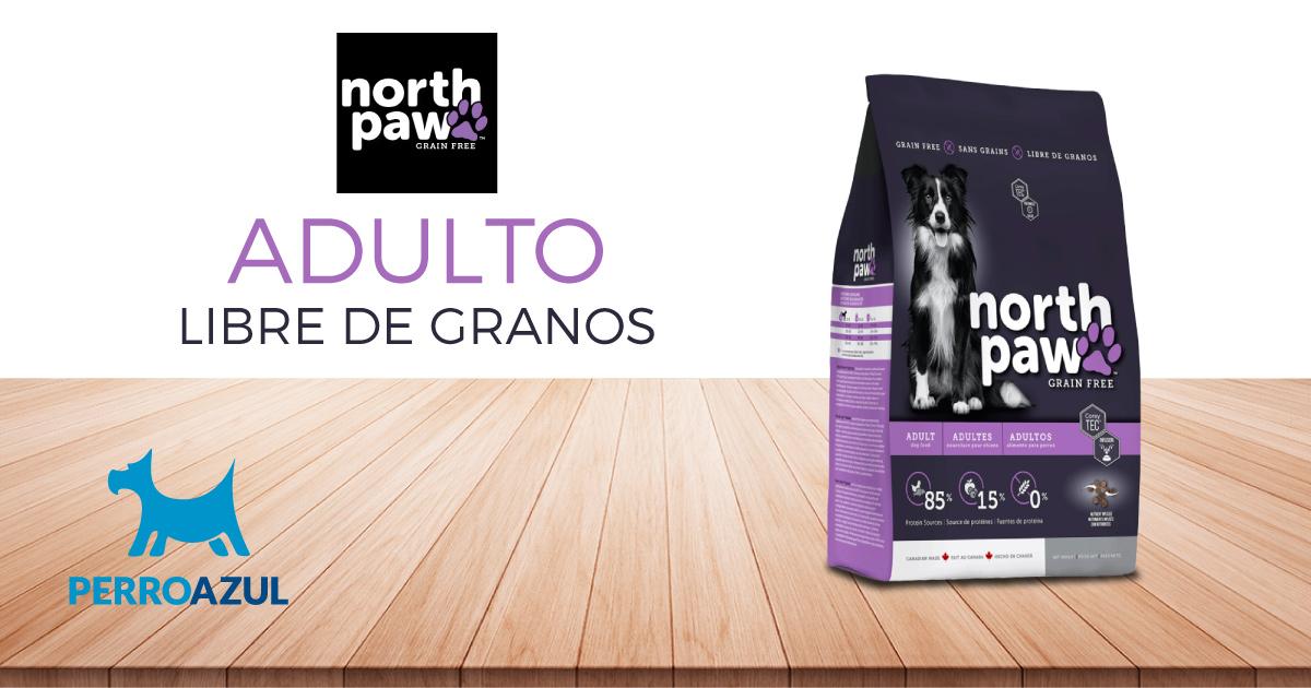 North Paw Adulto Libre de Granos 2.7kg | El Perro Azul