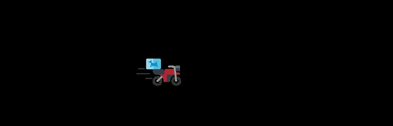 Moto El Perro Azul