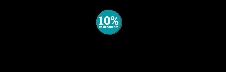 10 porciento de descuento en Nupec